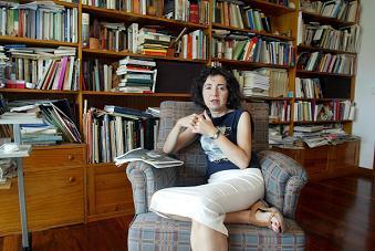 Marilar Aleixandre, nas Tertulias do IEM