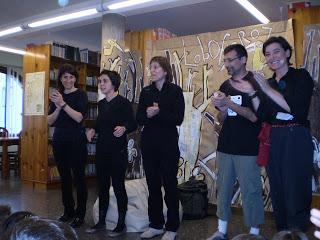 O Contomar celebra o Día Mundial do Teatro
