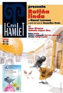 """Este luns, despedida do Contomar coa obra """"Ratiña linda"""" de Casa Hamlet"""