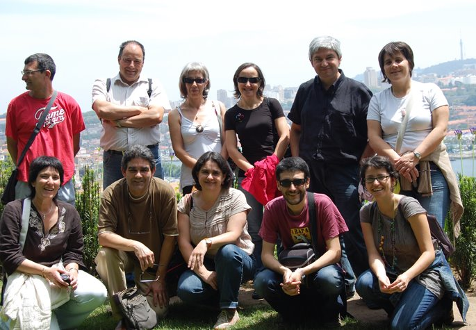 Visita á Biblioteca Almeida Garret de Porto