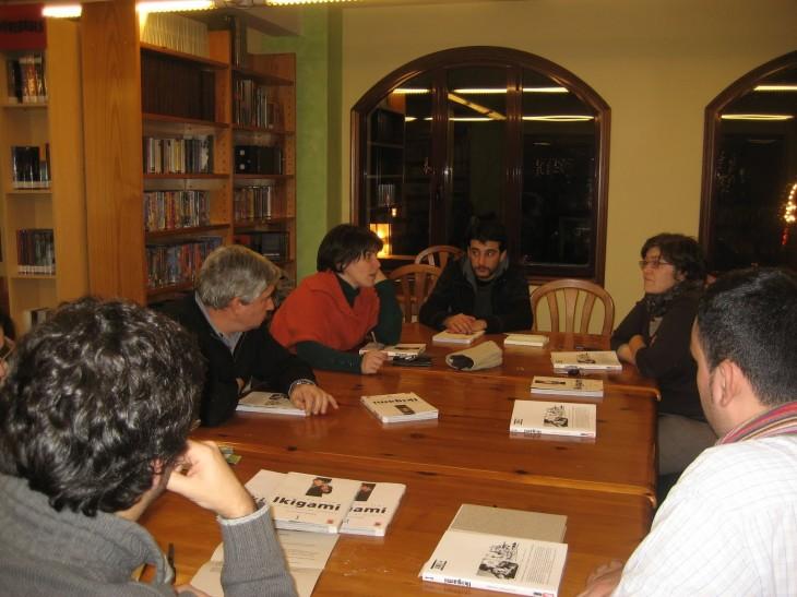 Lecturas Debuxadas: última sesión de 2009, primeira de 2010
