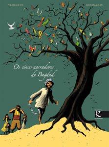 Os cinco narradores de Bagdad, no Lecturas Debuxadas