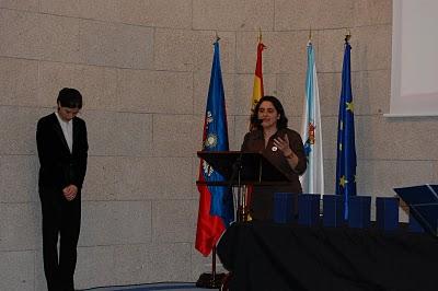 Espazo Lectura recolleu en Lugo o Premio Fernández del Riego