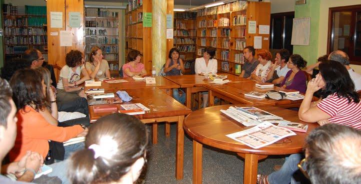 Xulia Alonso inaugurou a tempada do club de lectura Sete Vidas