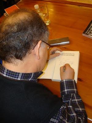Agustín Fernández Paz no club de lectura Sete Vidas