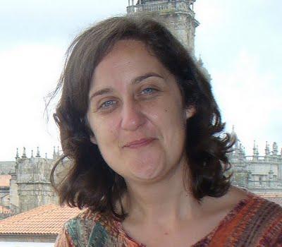 A escritora e actriz Paula Carballeira, este domingo no Lendo Contigo