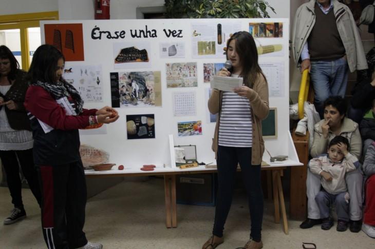 Exposición sobre o libro, a escrita e a ilustración no CEIP Souto Donas de Gondomar