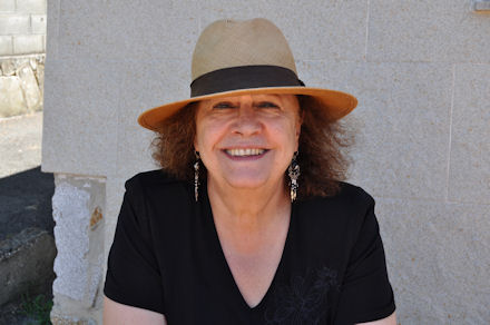 A escritora Marica Campo, no Sete Vidas deste mes