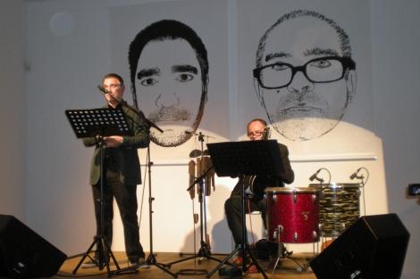 O músico Julián Hernández e o poeta Manuel Romón estarán este sábado nas Noites Golfas