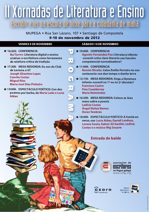 Espazo Lectura participa nas II Xornadas de Literatura e Ensino