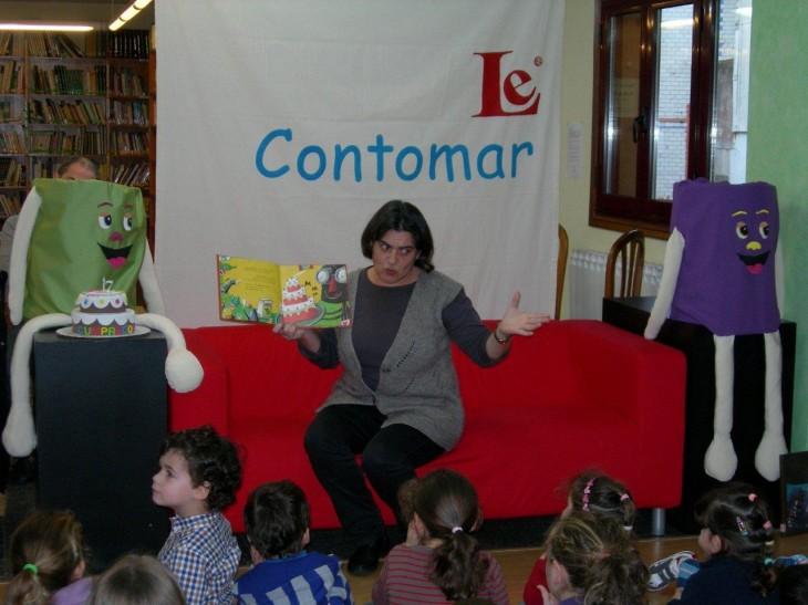 Xa cumpriu sete anos e o Contomar segue enchendo de contos a biblioteca