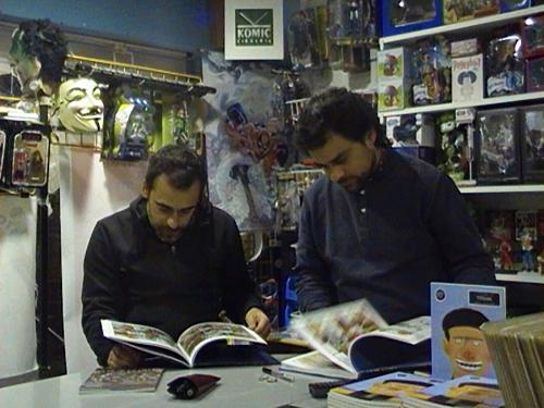 """Sesión especial do Lecturas Debuxadas con Inacio Vilariño e Iván Suárez, autores de """"Titoán"""""""