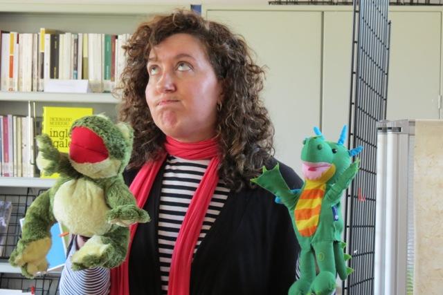 A contadora Marisa Irimia participou na Semana do Libro e a Lectura 2013