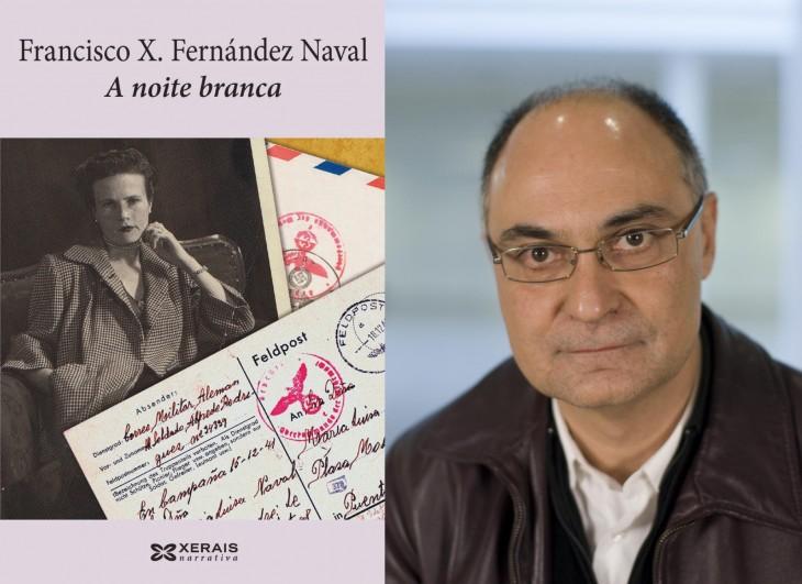 """Presentación en Gondomar da novela """"A noite branca"""" de Fernández Naval"""
