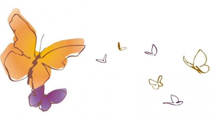 É primavera e as bolboretas enchen a Casa da Lectura