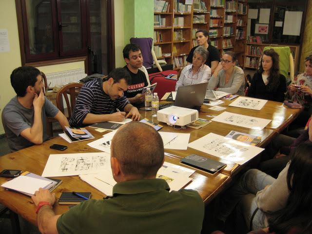 """""""V de Vendeta"""" no Lecturas Debuxadas de maio"""