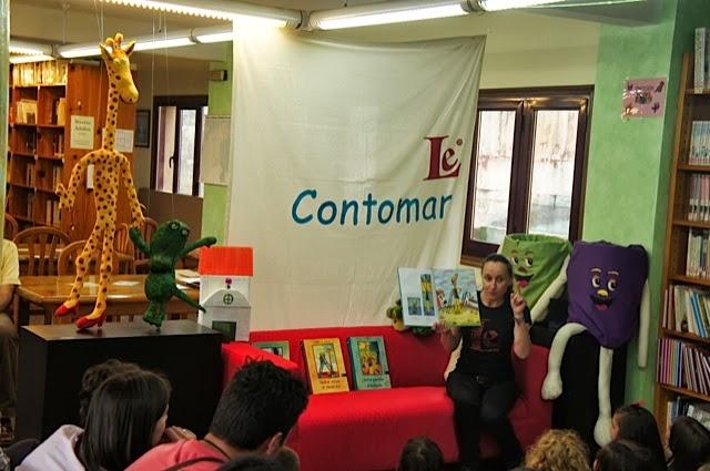 O Contomar cerrou unha tempada máis de contacontos semanal na Biblioteca de Gondomar