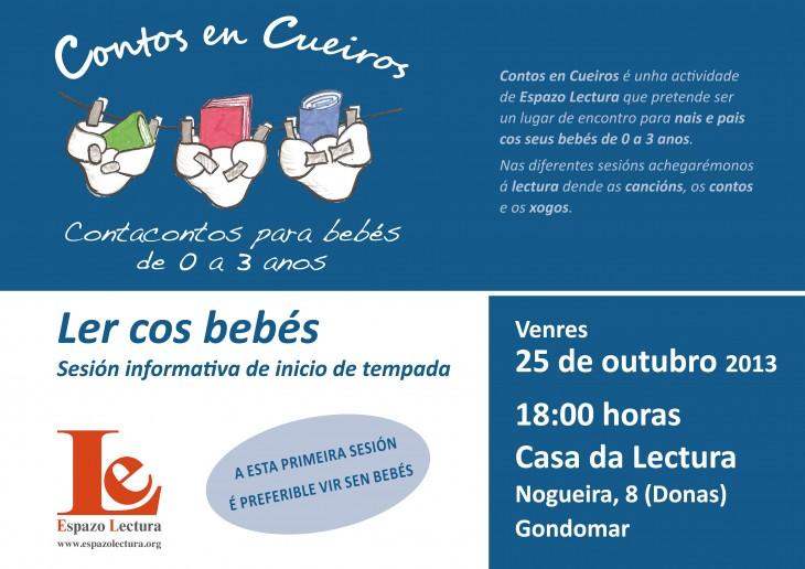 Ler cos bebés: sesión informativa de Contos en Cueiros
