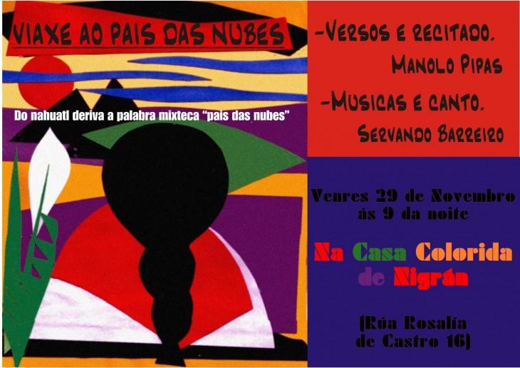 Recital poético-musical en Nigrán