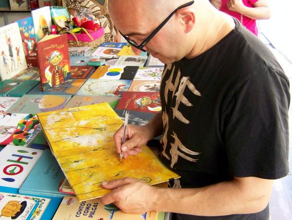 Unha sesión especial co ilustrador Ramón Trigo para pechar o ano na Casa da Lectura