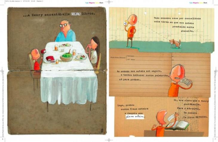 Sesión de contos bilingüe, inglés-galego, na Casa da Lectura