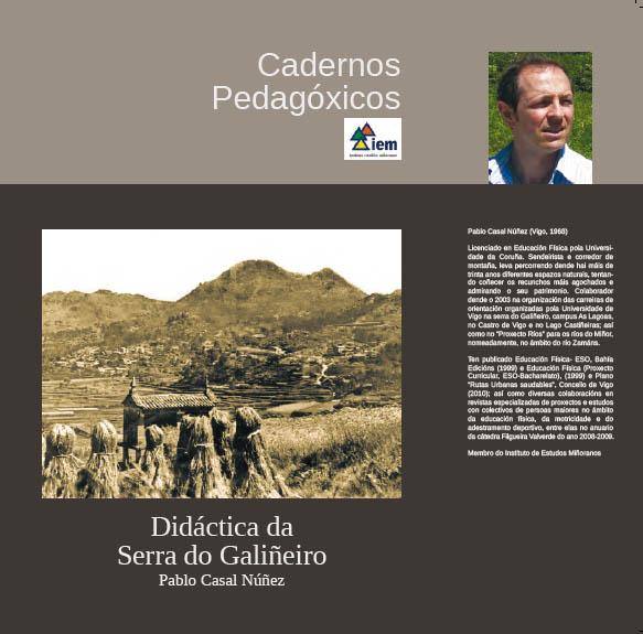 """Presentación do libro """"Didáctica da Serra do Galiñeiro"""""""