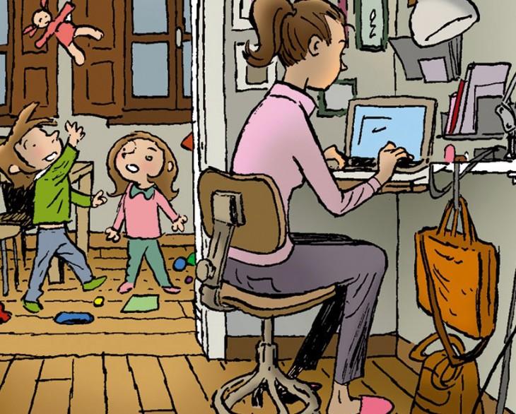 """A editora Gemma Sesar, autora do cómic """"Vida de nai"""", visita o Lecturas Debuxadas de febreiro"""