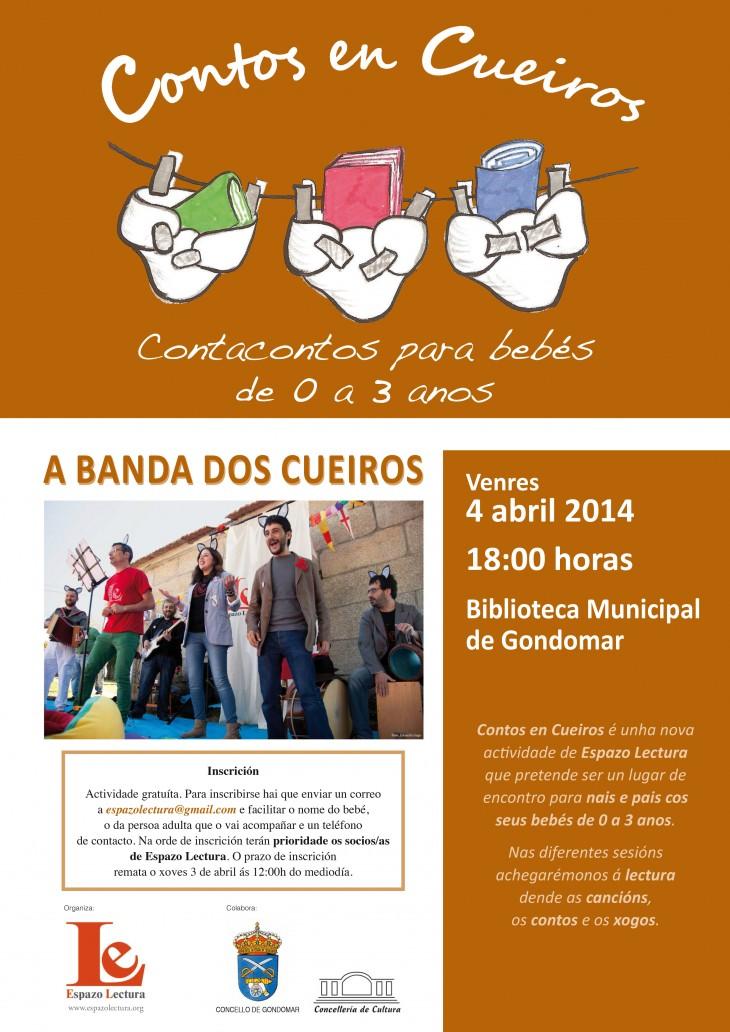 Concerto da Banda dos Cueiros no próximo encontro de Contos en Cueiros