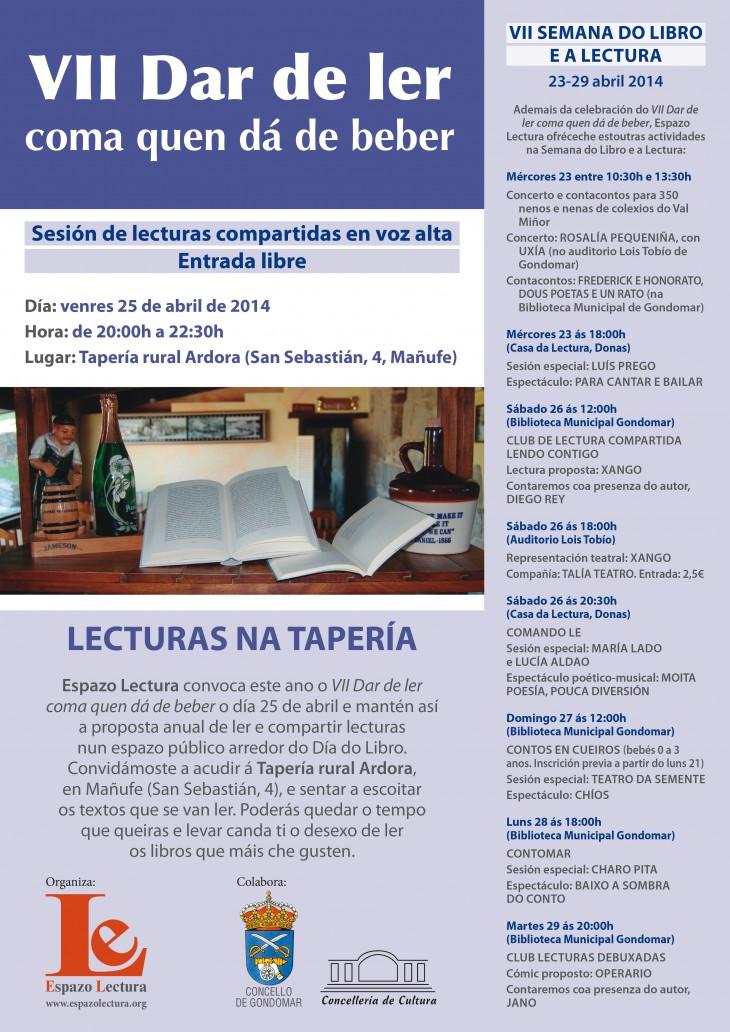 VII Semana do Libro e a Lectura (23-29 de abril de 2014)