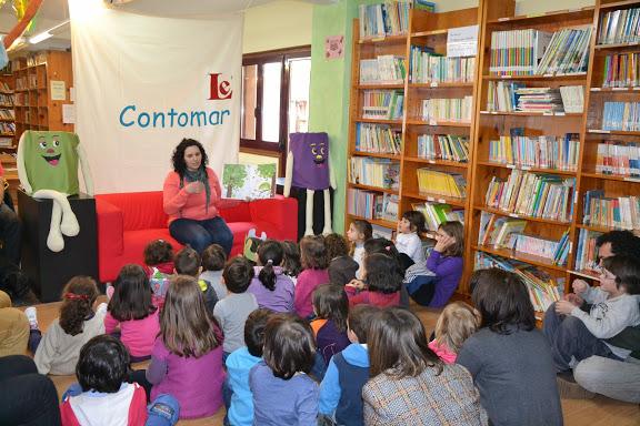 Mestres e mestras do CEIP Chano Piñeiro veñen contar ao Contomar