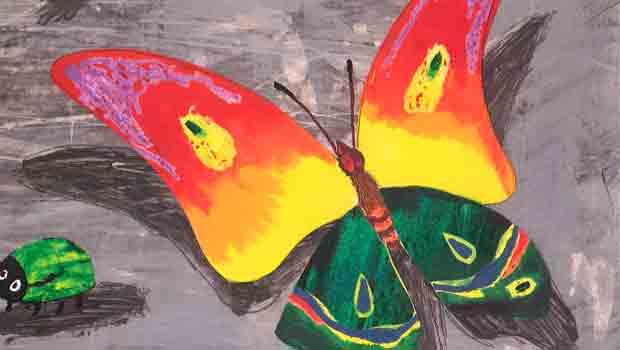 É primavera, as bolboretas voan na Casa da Lectura