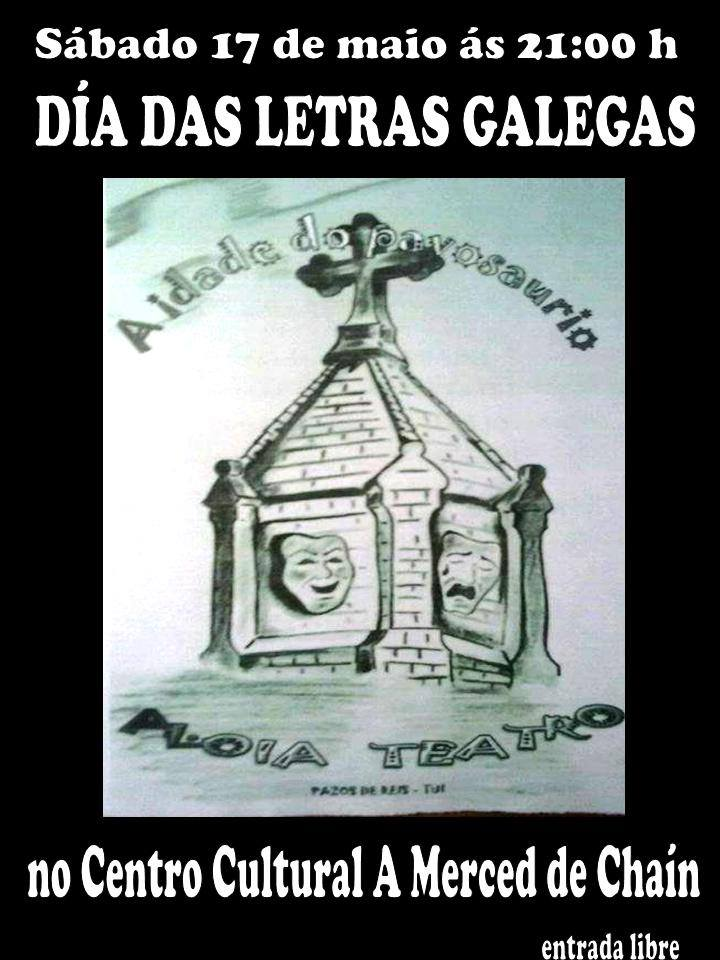 Programación Letras Galegas do Centro Cultural de Chaín