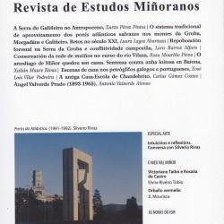 Presentación do novo número da Revista de Estudos Miñoranos
