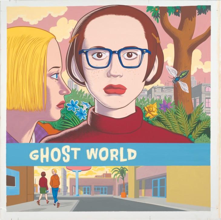 """""""Ghost World"""", de Daniel Clowes, centra o Lecturas Debuxadas de novembro"""