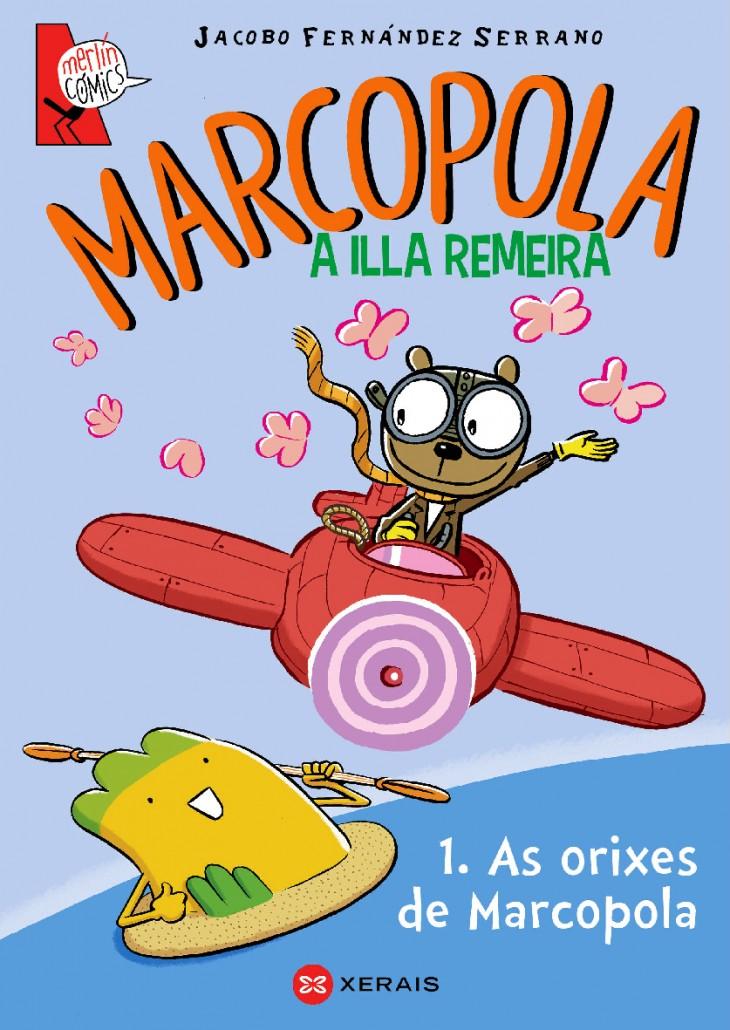 """""""Marcopola"""" de Jacobo Fernández, na última sesión do ano no Lendo contigo"""