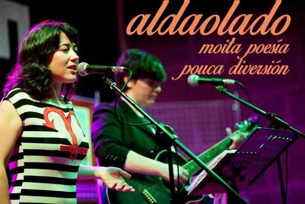 Espectáculo poético-musical con María Lado e Lucía Aldao no IES Auga da Laxe