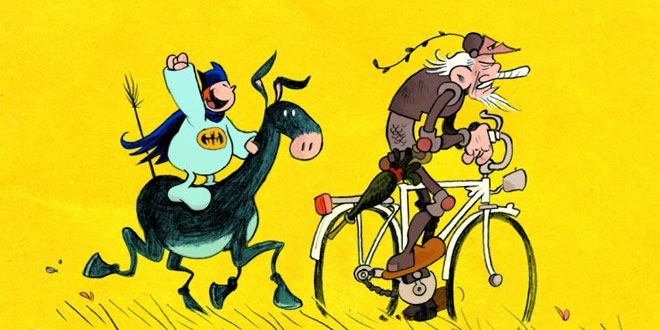 «Don Quijote», de Flix, no Lecturas Debuxadas de marzo