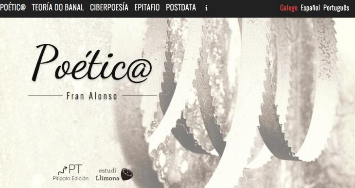 «Poétic@», poemario dixital de Fran Alonso