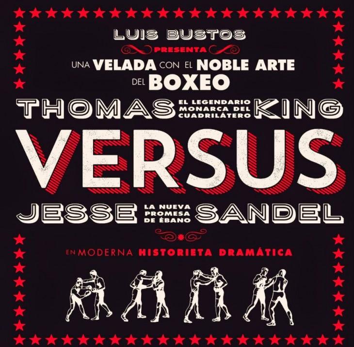 """Versus"", de Luis Bustos, no Lecturas Debuxadas de maio"
