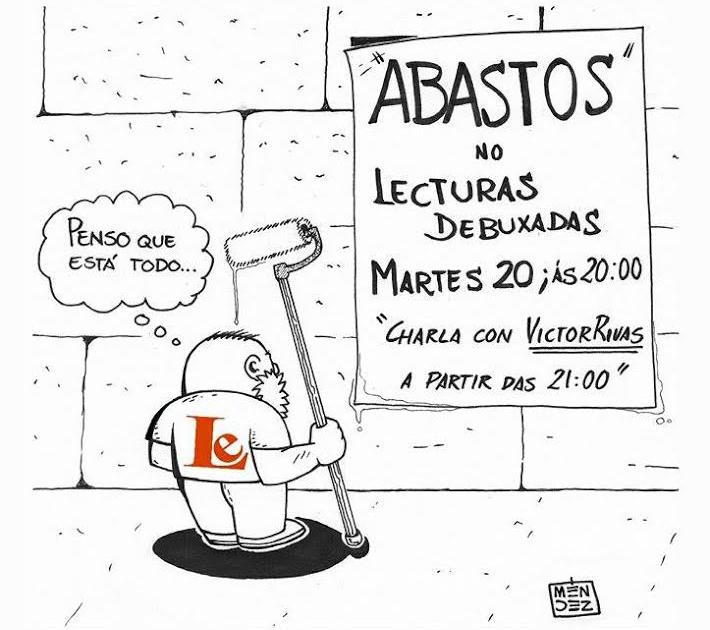 """""""Abastos"""", a primeira publicación do selo 3pintamonas, no Lecturas Debuxadas deste mes"""