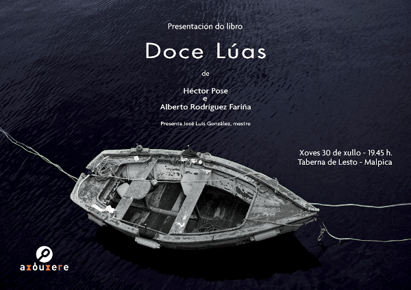 """Presentación en Libraida do libro """"Doce lúas"""""""