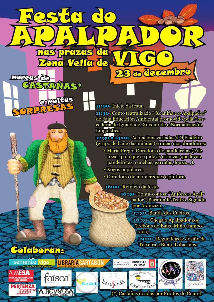 A Banda dos Cueiros actúa o 23 de decembro na Festa do Apalpador de Vigo