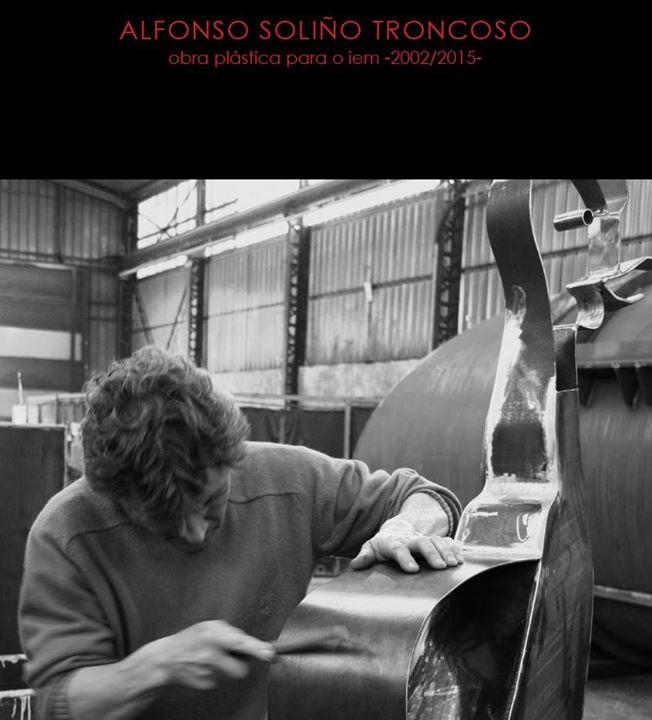 """Presentación do libro """"Alfonso Soliño Troncoso. Obra plástica para o IEM 2002/2015"""""""