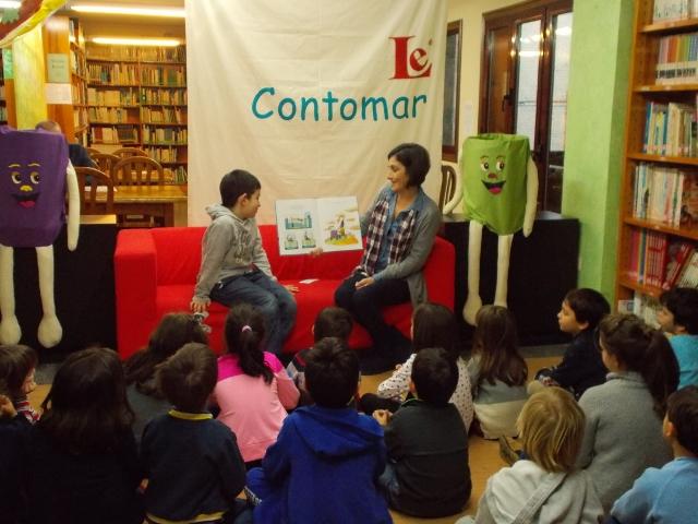 Contomar, todos os luns na biblioteca de Gondomar