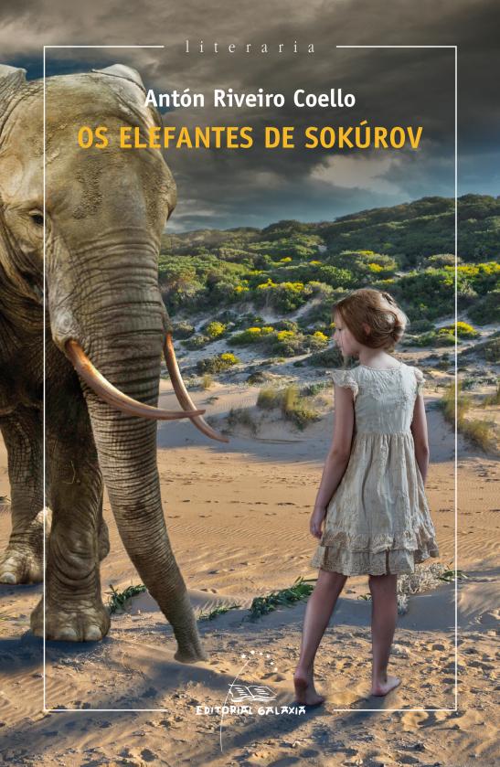 """Presentación de """"Os elefantes de Sokúrov"""", de Antón Riveiro Coello, en Gondomar"""