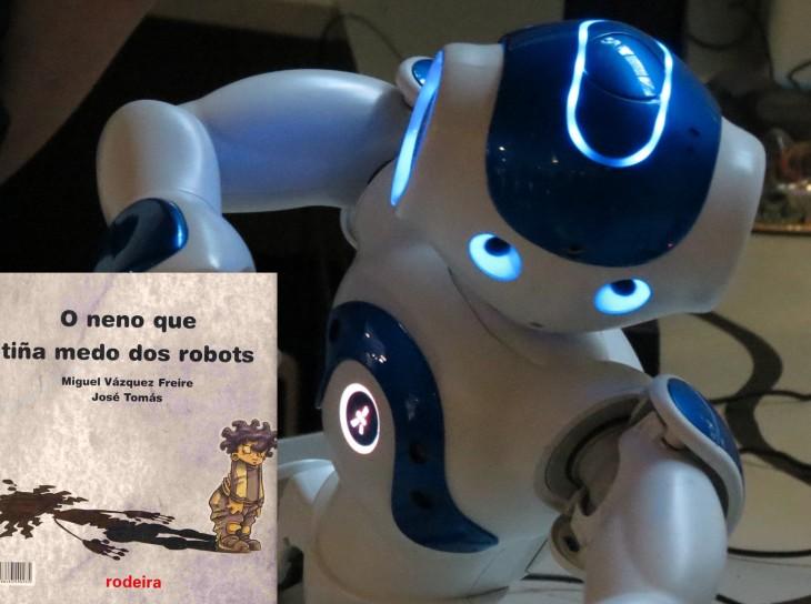 Lendo robots, na Casa da Lectura