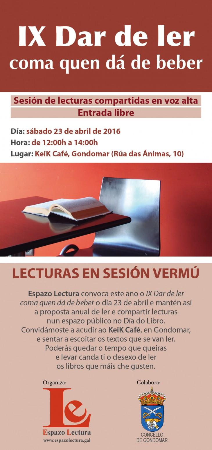 O 23 de abril, Día do Libro, dará comezo a IX Semana do Libro e a Lectura en Gondomar
