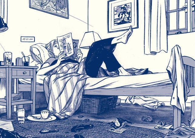 """""""Aquel verano"""", de Mariko Tamaki e  Jillian Tamaki, no Leturas Debuxadas deste mes"""