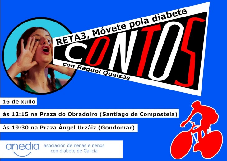 Reto deportivo-cultural da Asociación Anedia, de nenos e nenas con diabete de Galicia