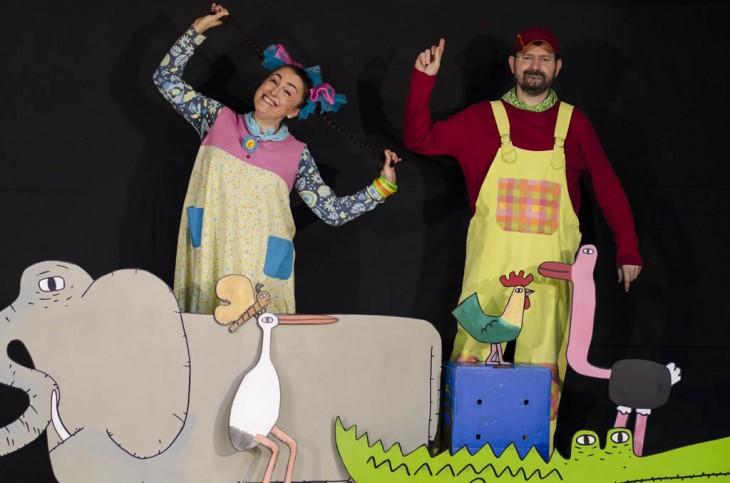 Espazo Lectura celebra o Día do Libro cos centros de ensino do Val Miñor e o espectáculo «Canta connosco!» de Migallas Teatro